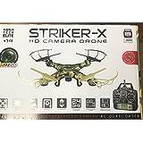 World Tech Toys Striker-X Camo 2.4 Ghz 4.5CH RC HD Camera Drone