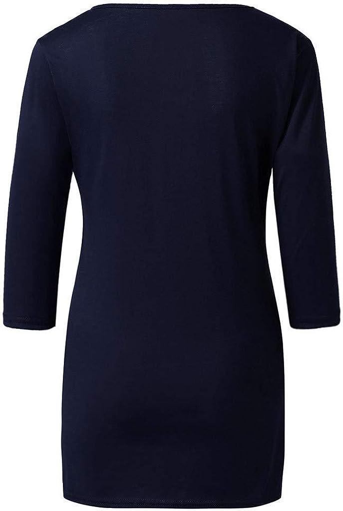Emimarol Womens Thanksgiving Christmas Pregnancy Hoilday Maternity T-Shirts