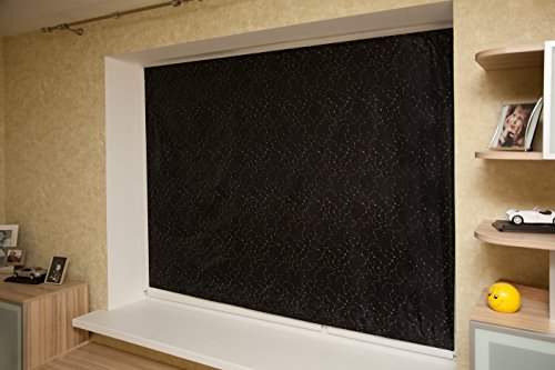 Kenley portable blackout blinds travel black out window for Portable window curtain