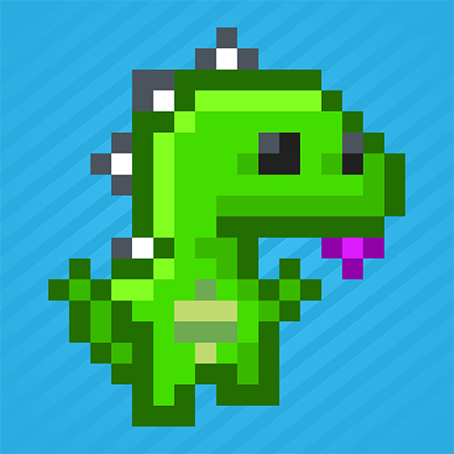 Super Jetpack Lizard (Lizard Retro)