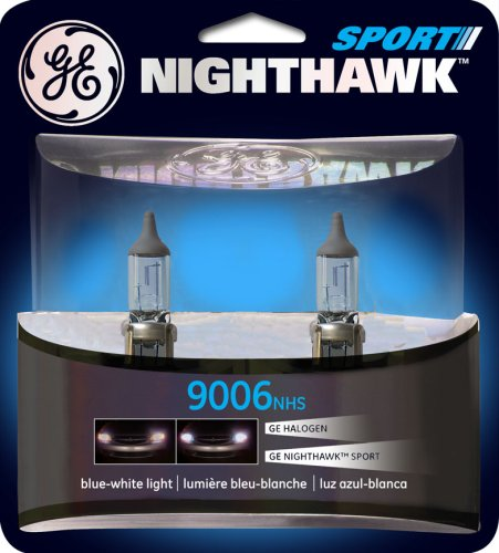 GE NIGHTHAWK SPORT 9006 Halogen Replacement Bulb, (Pack of 2)