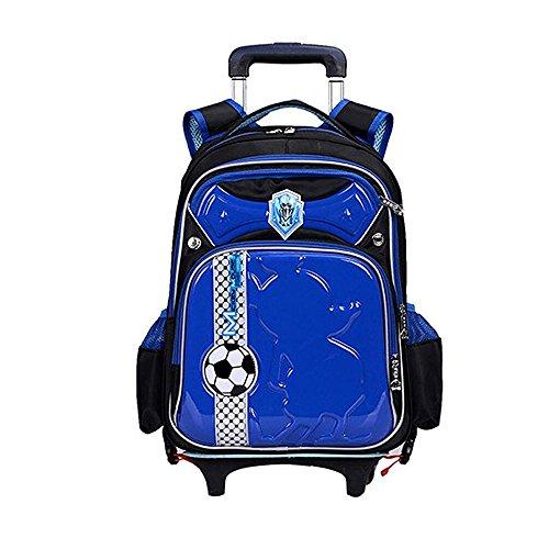 f576eb1881fc Children Football School Bags Boys Orthopedic Backpack with Wheels Trolley  Bag - Buy Online in UAE.