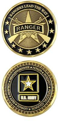 U.S. ARMY RANGER Challenge Coin-Eagle Crest 2551
