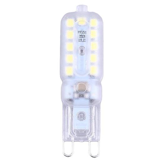 G9 Lámpara Led Luz 3W / 5W G9 Bombilla Led 220V SMD2835 LED G9 ...