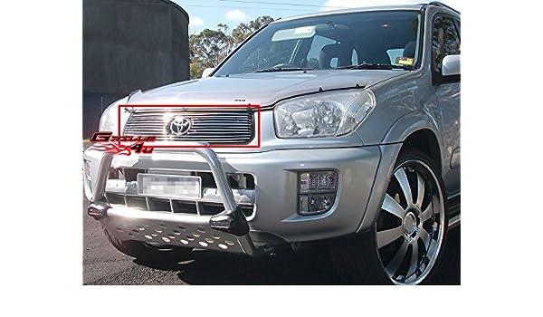 Fits 2001-2003 Toyota RAV4 Main Upper Billet Grille Insert