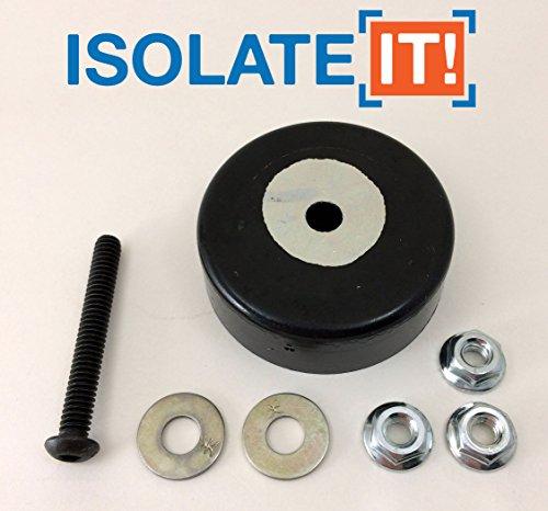 Isolate It!: Sorbothane Anti-Vibration Leveling Mount - 1/4-20 2.25