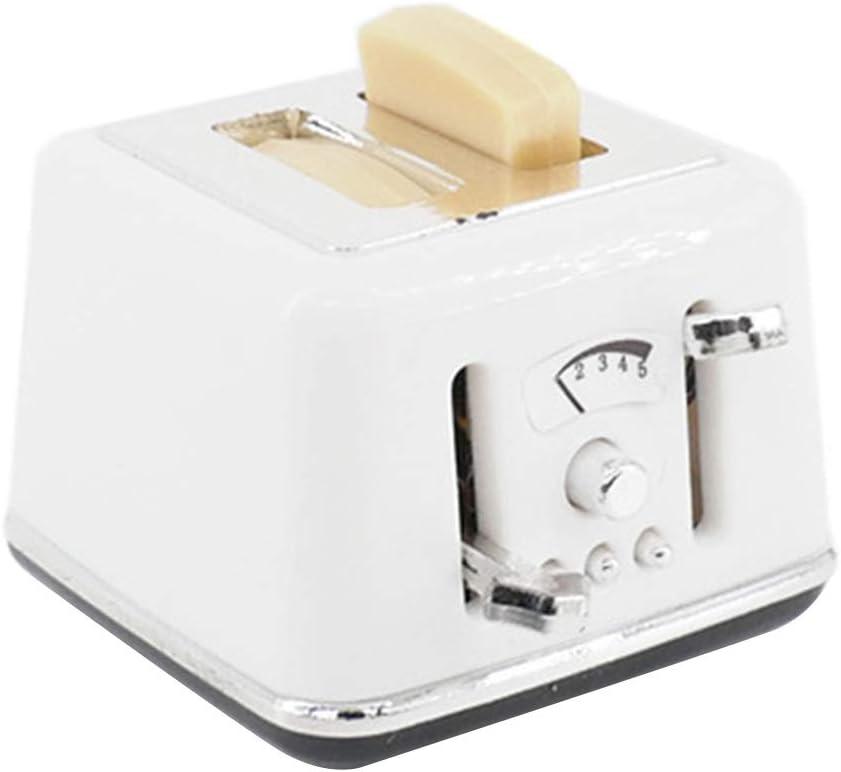 1:12//1:6 Dollhouse Miniature Scene Model Bread Machine Pretend Play Toy 6Wcveuebuc Dollhouse Decoration Accessories