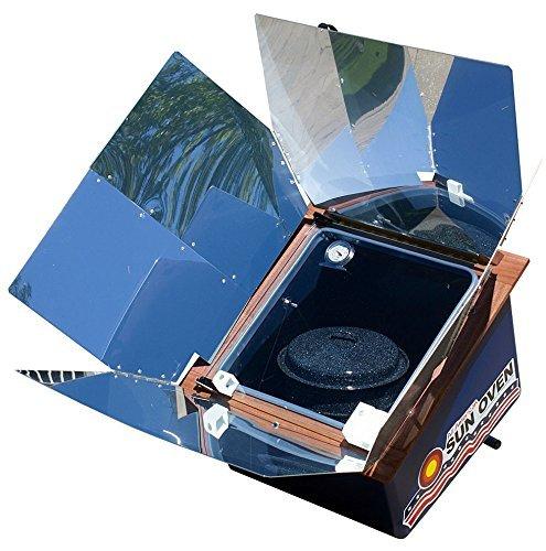 Premium Bundle- All American Sun Oven- The Ultimate Solar Appliance w/ EasyStack Pots, Interchangeable Enamel andGlass Lids by SUN OVENS International (Image #6)