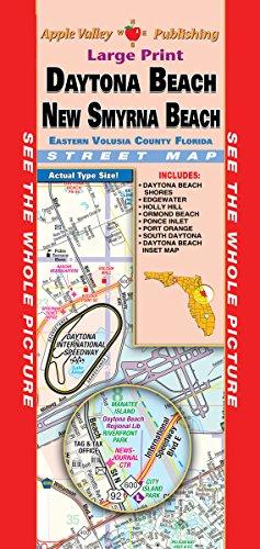 Daytona Beach/New Smyrna Beach FL Fold Map