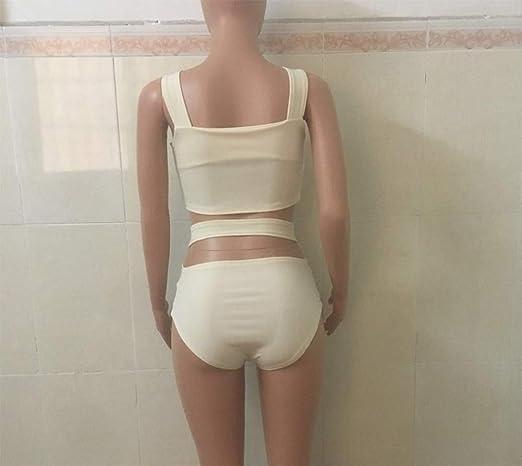WJJ Tirantes de Lomo,Bikinis,Abrazos,Trajes de baño sexys.: Amazon.es: Jardín