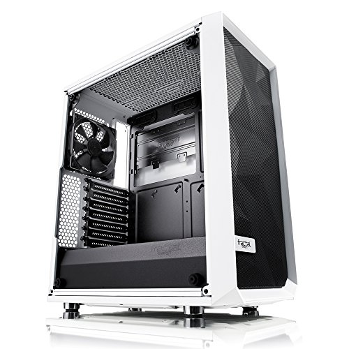 Fractal Design FD-CA-MESH-C-WT-TGC Computer Case (Best Looking Pc Cases)