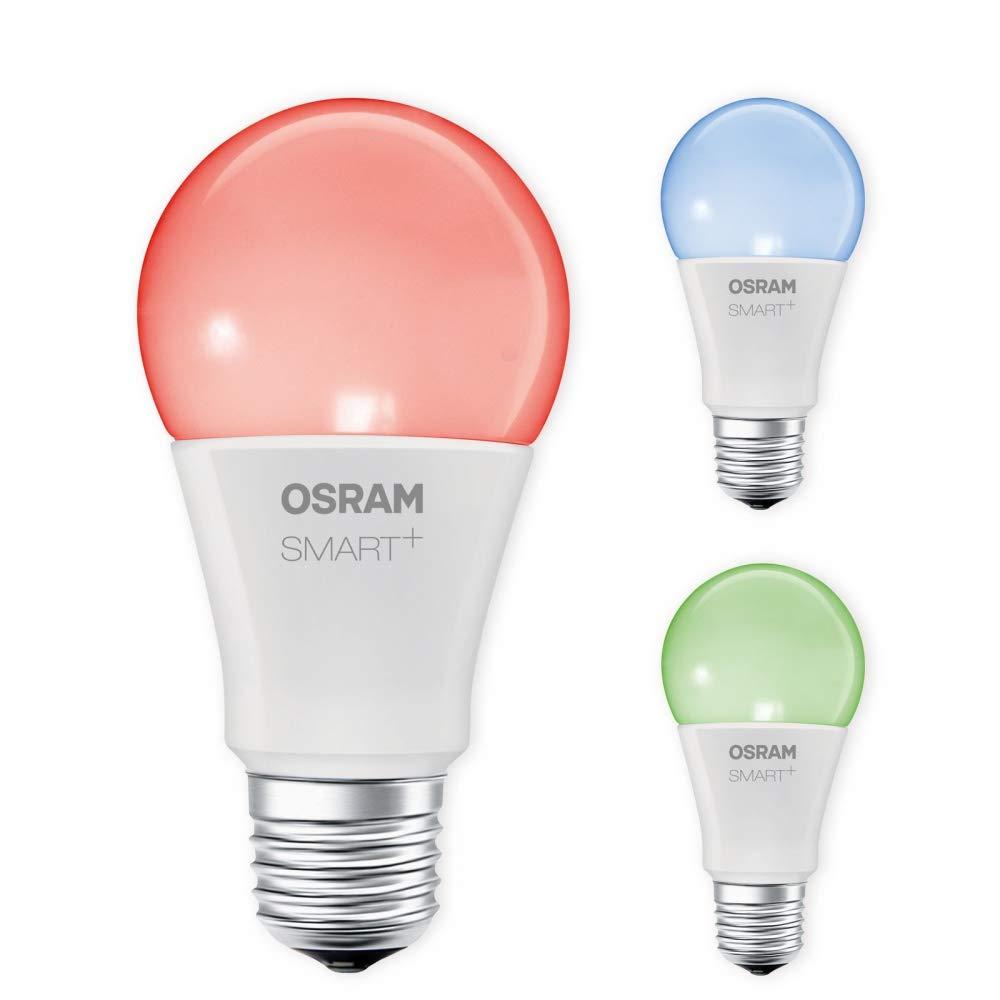 OSRAM SMART+ LED RGBW E27 10W 60W RGB ZigBee Lightify Echo Alexa kompatibel Auswahl 3er Set