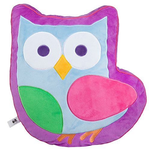 Olive Kids Birdie Plush Pillow - Plush Olive