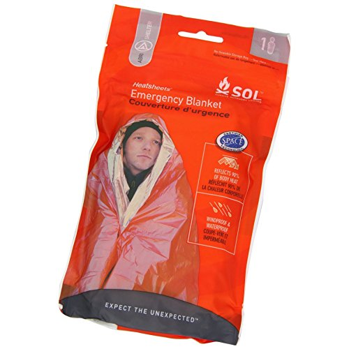 Adventure Medical Kits Sol Survival Blanket, Two Person, 3.2 Ounce (pack Of 2)