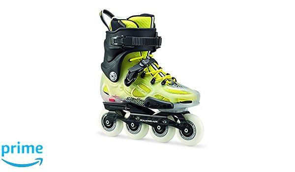 Rollerblade Twister X Translucido/Amarillo (44,5): Amazon.es: Deportes y aire libre