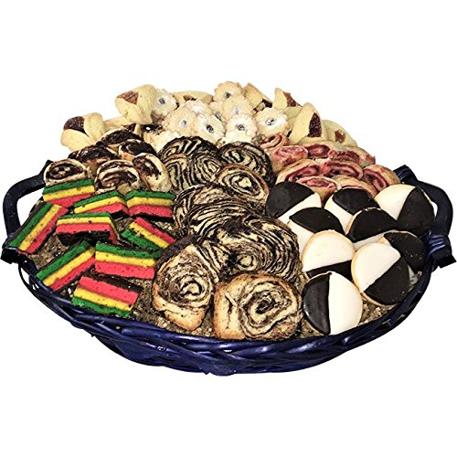 Kosher Shiva and Condolence Bakery Basket - Over 5lbs. of Cookies and Cakes by TastefulTreats.com