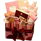 A Day at The Spa Care Package - Bath and Body Gift Basket - Spa Set