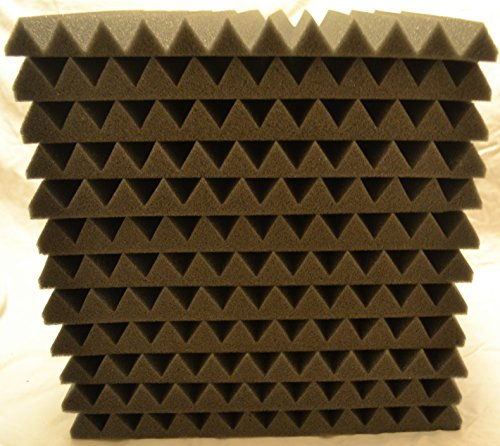 FoamEngineering Acoustic Panels Studio Soundproofing Foam Wedge Tiles, 12 X 12-Inches, 48 Pack - Image 2