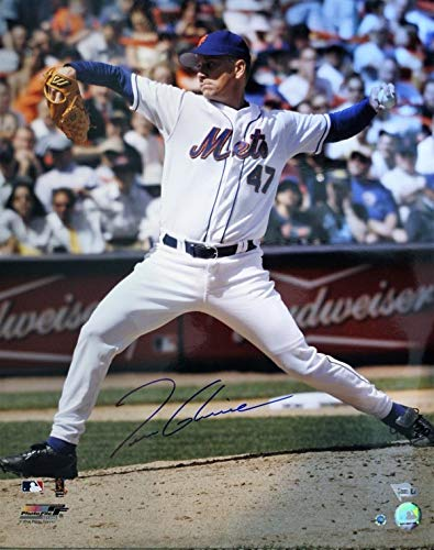 New York Mets 16x20 Photo - Autographed Signed Tom Glavine New York Mets 16x20 Photo MLB Authenticated - Certified Authentic