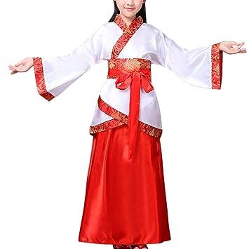 Gtagain Antiguo Tradicional Nacional Disfraz - Unisex Niños Chino ...