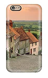 Andre-case Faddish Gold Hill Cottages Shaftesbury Small Road Nature Other case cover For Iphone 6 plus DRS3paa29k2