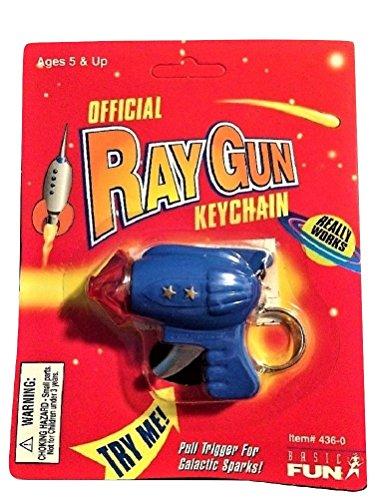 Ray Gun Toy Basic Fun Keychain Factory -