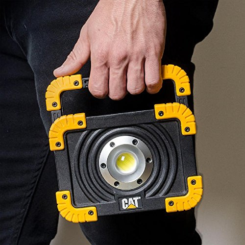 NEW! CAT 1100 Lumen Rechargeable LED Worklight, Yellow/Black Finish