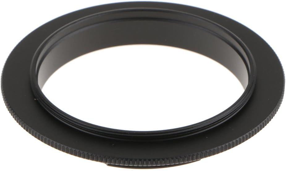 kesoto 52mm Filter Thread Macro Reverse Mount Adapter Ring for Canon EOS EF Mount Cameras Fits 760D 750D 700D 100D 1300D 80D 6D 7D 5D Mark III