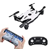 Hobbyfly JJRC H49 SOL FPV Mini RC Drone with Camera 720P HD Wi-Fi Live Video Transmission Remote Control Quadcopter Drone Headless Mode Altitude Hold One Key Return