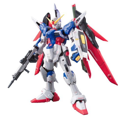Gundam Seed Destiny - Bandai Hobby #11 RG Destiny Gundam Model Kit, 1/144 Scale