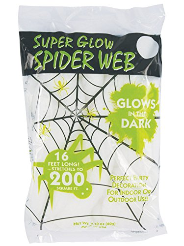 GLOW DARK SPIDERWEB SEASONS MfrPartNo