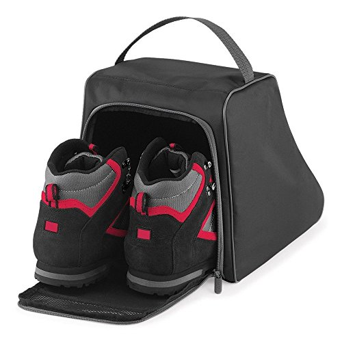 Quadra Hiking Boot Bag - Black/Graphite grey