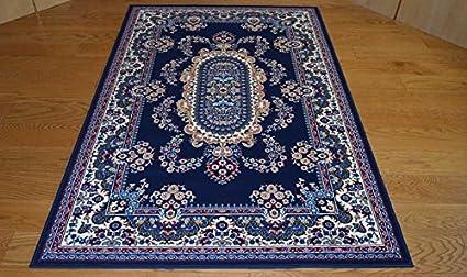 Tappeti classici economici modello persiano colore blu - tris ...
