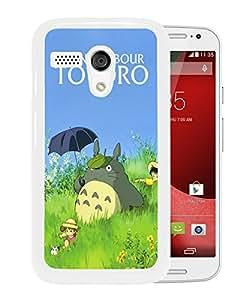 My Neighbor Totoro 21 White Fashionable Design Motorola Moto G Plastic Case