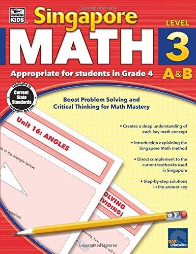 Download Singapore Math, Grade 4 pdf epub