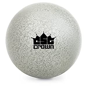 4.5kg (9.9lbs) Shot Put, Cast Iron Weight Shot Ball – Great for Outdoor Track & Field Competitions, Practice, & Training by Crown Sporting Goods
