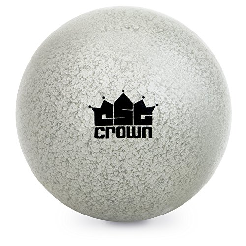 Crown Sporting Goods 4.5kg (9.9lbs) Shot Put, Cast Iron Weight Shot Ball - Great for Outdoor Track & Field Competitions, Practice, Training from Crown Sporting Goods