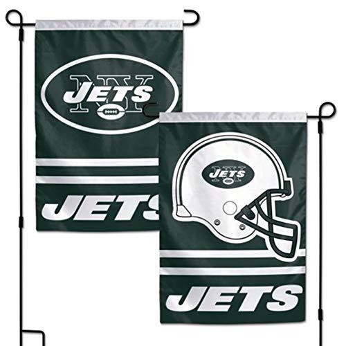 Stockdale New York Jets WC Garden Flag Premium 2-Sided Outdoor House Banner Football