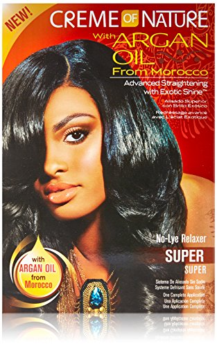 Creme of Nature Argan Oil Relaxer Formula, Super -