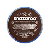 Snazaroo Face and Body Paint, 18ml - Dark Brown (Individual Colour)