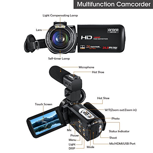 The 8 best hd camcorders with mic input
