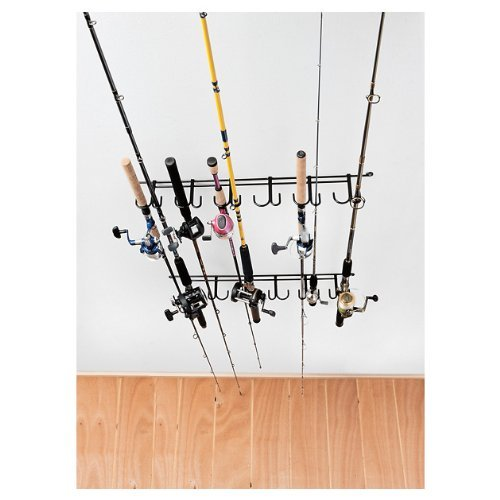 (Rack'Em 7009 Overhead 12-Rod Fishing Rod)
