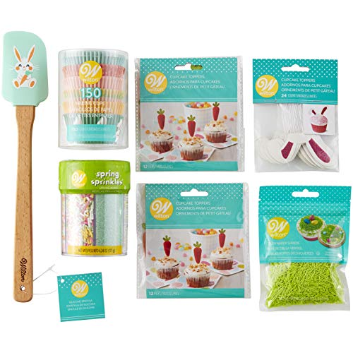 Wilton Easter Cupcakes Decorating Kit, 7-Piece -