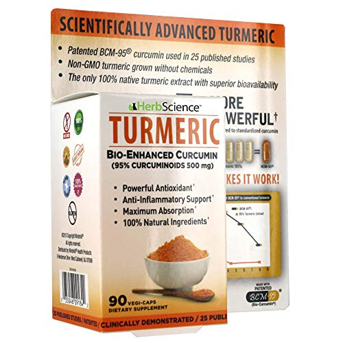 Cheap Herb Science Tumeric Dietary Supplement, 90 ct.