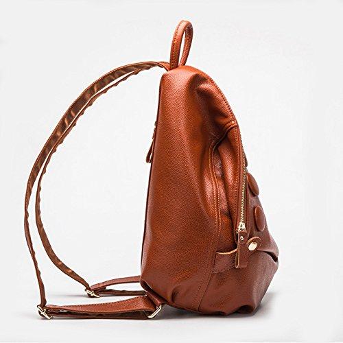Coreana Zaino Pelle In A Moda Treasureblue XIAOLONGY Tracolla Moda Borsa In Pelle winered Di xBcwAfUc