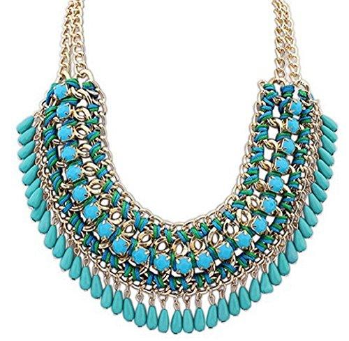Oliasports Jewelry Pendant Statement Necklace