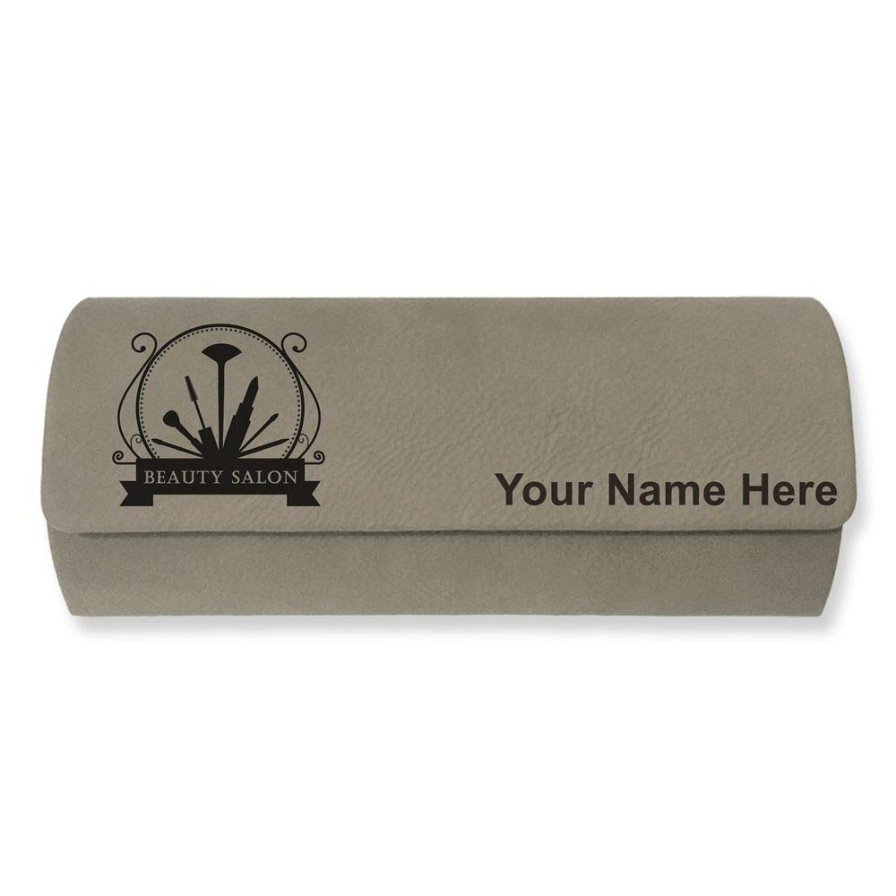 Personalized Engraving Included Sunglass Case Beauty Salon