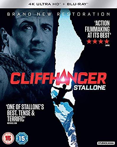 Cliffhanger [4k UHD + Blu-ray]