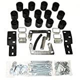Performance Accessories, Ford Ranger Splash/Edge (Manual Trans Requires 3700) 3'' Body Lift Kit, fits 1998 to 2000, PA883, Made in America