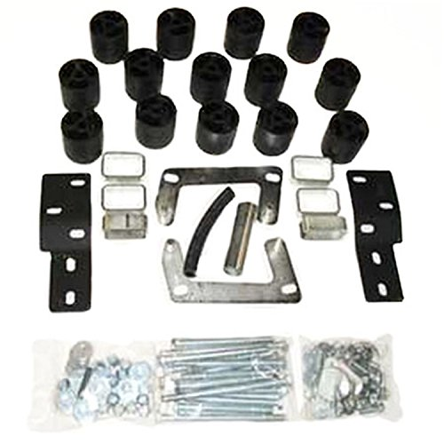 Performance Accessories, Ford Ranger Splash/Edge (Manual Trans Requires 3700) 3″ Body Lift Kit, fits 1998 to 2000, PA883, Made in America